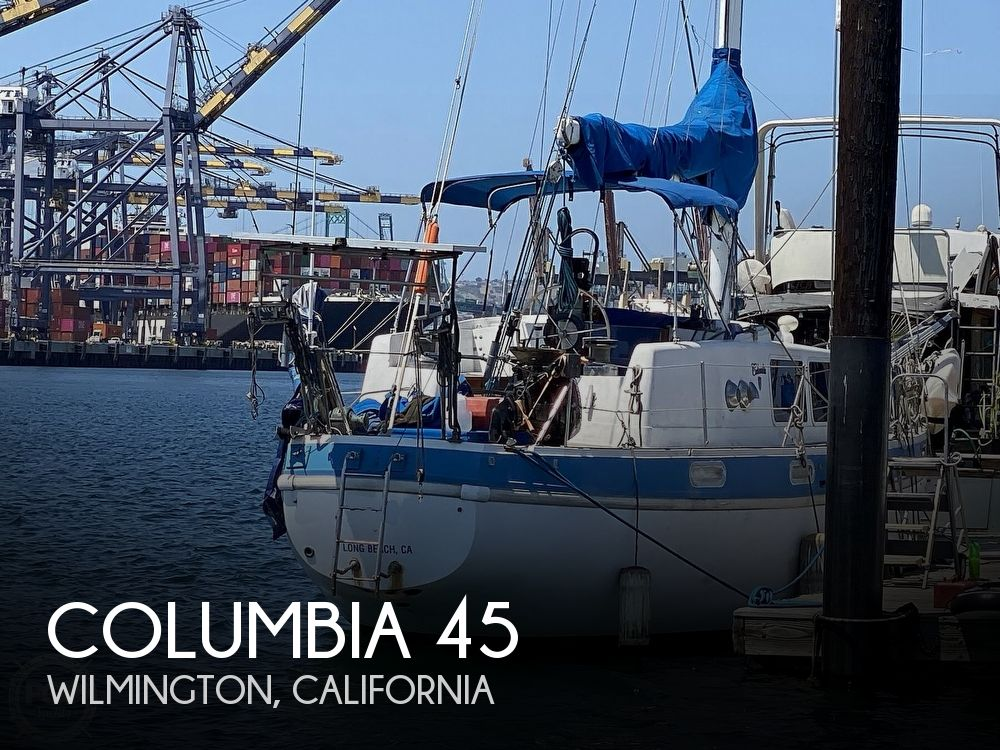 1972 Columbia boat for sale, model of the boat is 45 & Image # 1 of 40