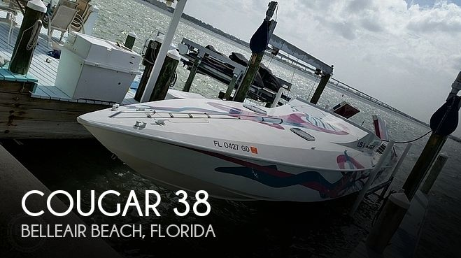 Used Cougar Boats For Sale by owner | 1989 Cougar 38