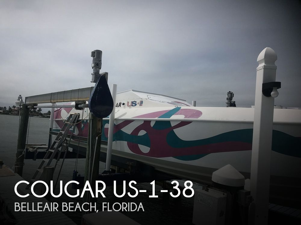 1989 Cougar boat for sale, model of the boat is US-1-38 & Image # 1 of 41