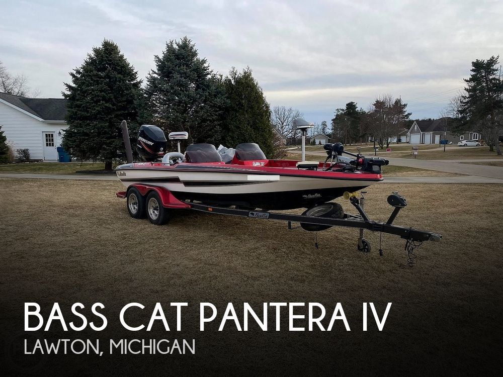 Used Bass Cat Boats For Sale in Michigan by owner | 2005 20 foot Bass Cat Pantera IV