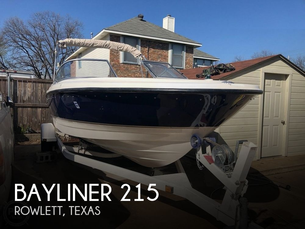Used Bayliner Boats For Sale in Dallas, Texas by owner | 2003 Bayliner 215 BR