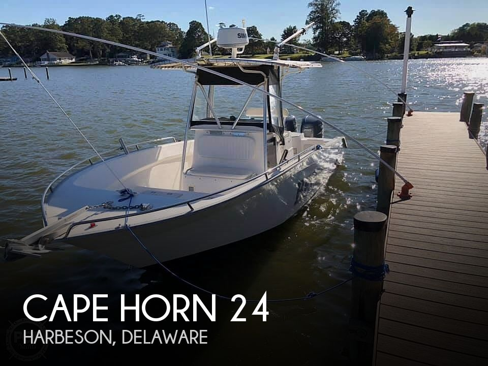 Used CAPE HORN Boats For Sale by owner | 2004 Cape Horn 24 OFFSHORE