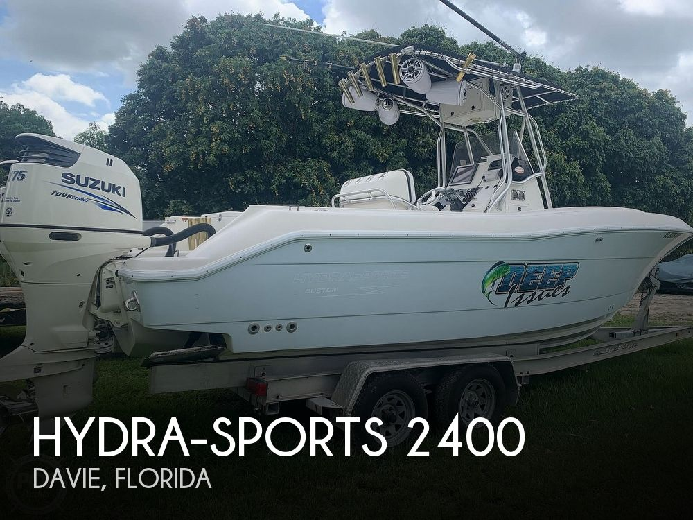 2005 Hydra-Sports boat for sale, model of the boat is Vector 2400CC & Image # 1 of 40