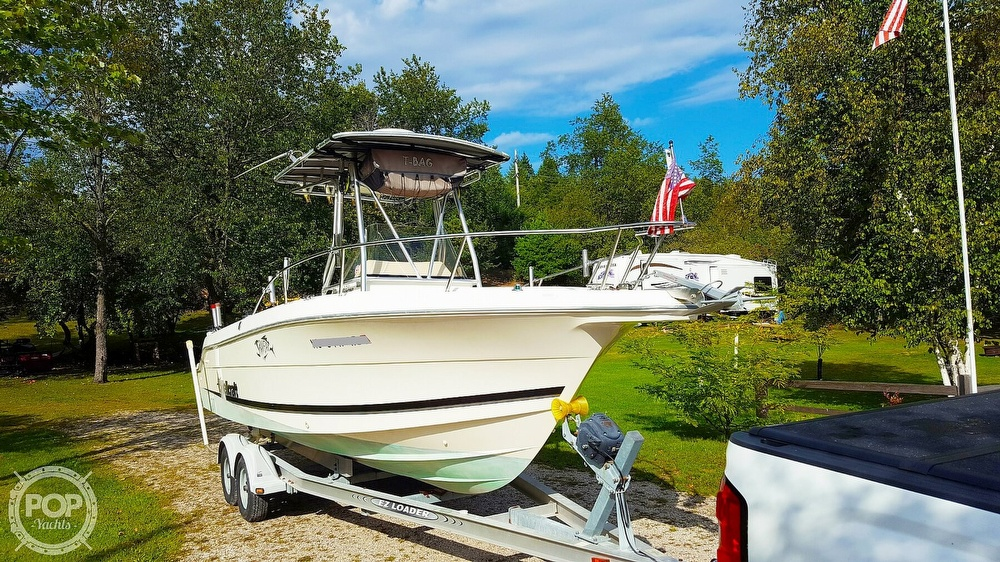 1999 Wellcraft boat for sale, model of the boat is Fisherman 230 & Image # 2 of 12