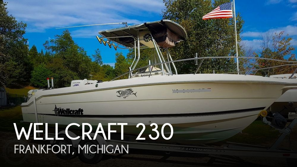 1999 Wellcraft boat for sale, model of the boat is Fisherman 230 & Image # 1 of 12