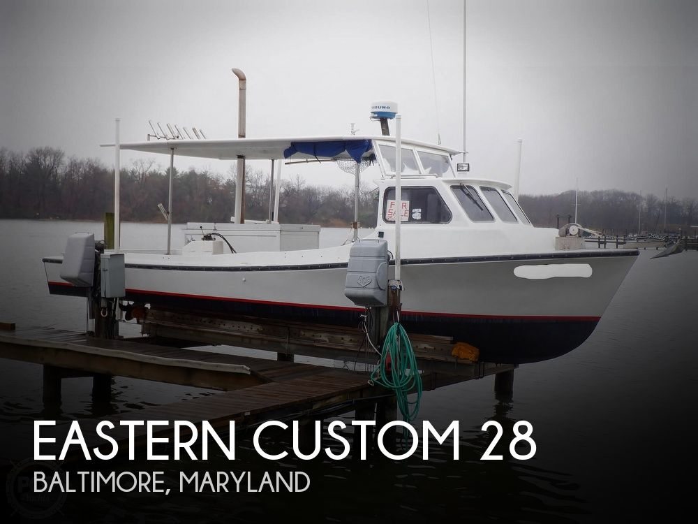 1990 Eastern boat for sale, model of the boat is Custom 28 & Image # 1 of 40