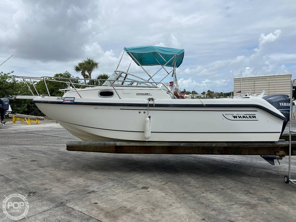 1998 Boston Whaler boat for sale, model of the boat is Conquest 21 & Image # 12 of 40