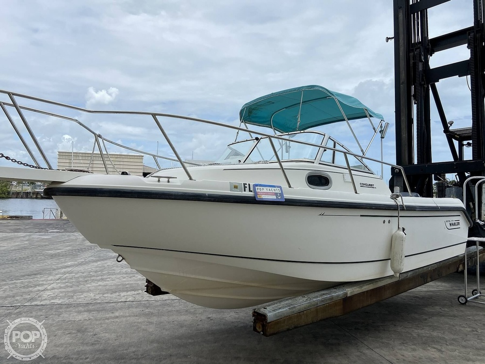 1998 Boston Whaler boat for sale, model of the boat is Conquest 21 & Image # 20 of 40