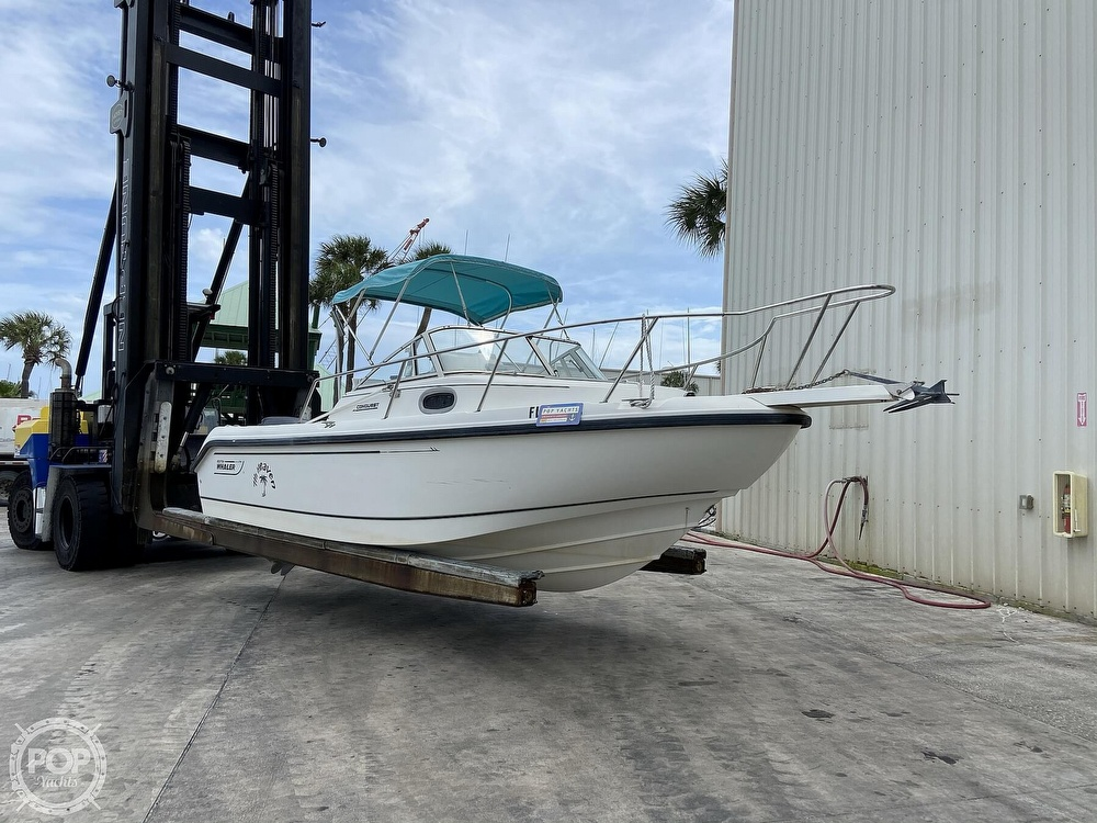 1998 Boston Whaler boat for sale, model of the boat is Conquest 21 & Image # 23 of 40