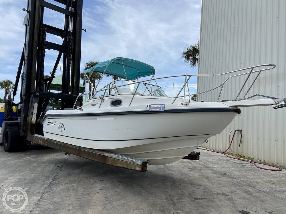 1998 Boston Whaler boat for sale, model of the boat is Conquest 21 & Image # 24 of 40