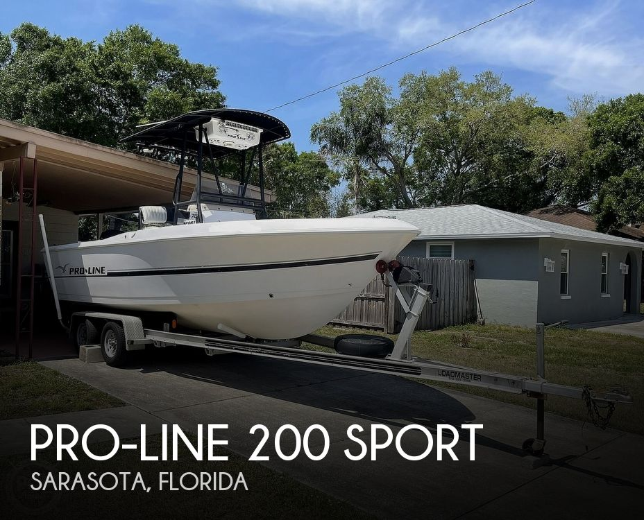 1999 Pro-Line boat for sale, model of the boat is 200 Sport & Image # 1 of 40