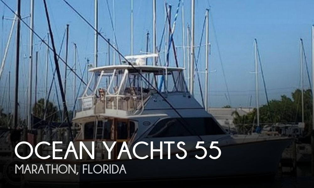 Used Ocean Yachts Boats For Sale by owner | 1985 Ocean Yachts Super Sport 55