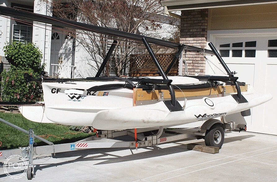 2014 Wind Rider boat for sale, model of the boat is Windrider 17 & Image # 5 of 20