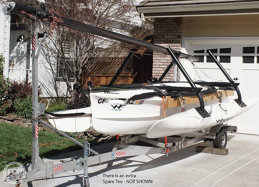 2014 Wind Rider boat for sale, model of the boat is Windrider 17 & Image # 6 of 20