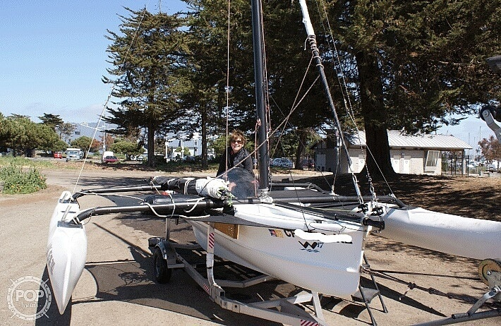 2014 Wind Rider boat for sale, model of the boat is Windrider 17 & Image # 18 of 20
