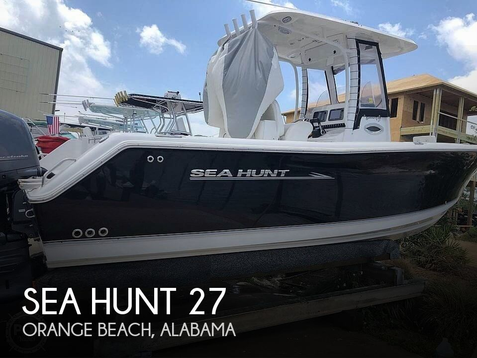 Used Sea Hunt Gamefish Boats For Sale by owner | 2013 Sea Hunt Gamefish 27 CC