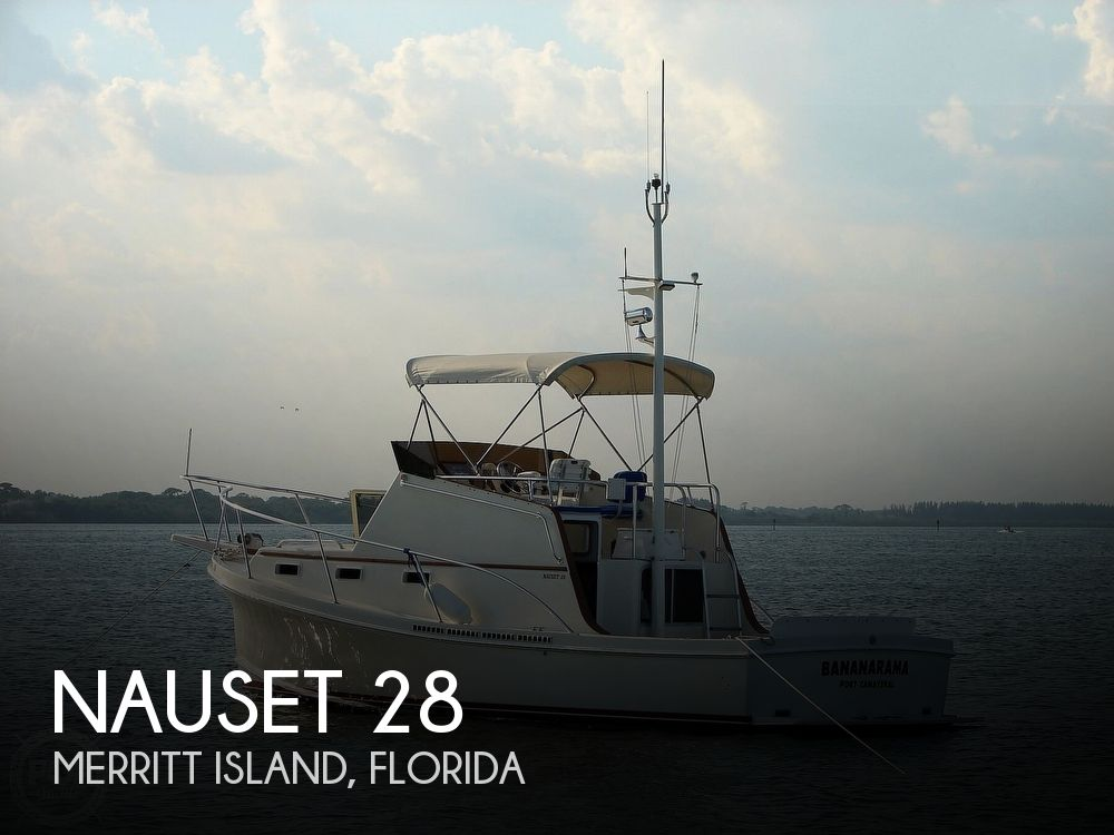 Used Deck Boats For Sale in Florida by owner | 1996 Nauset Bridge Deck 28