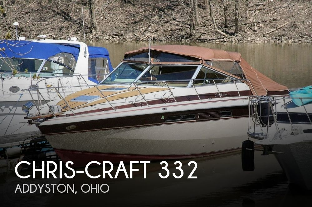 1980 Chris Craft boat for sale, model of the boat is 332 Express & Image # 1 of 40