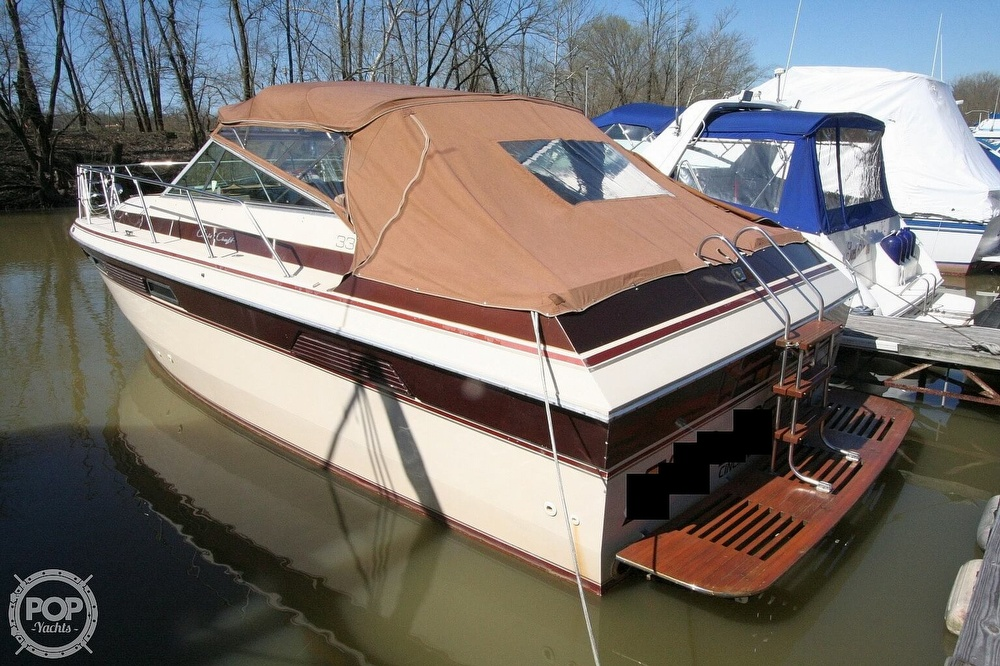 1980 Chris Craft boat for sale, model of the boat is 332 Express & Image # 4 of 40