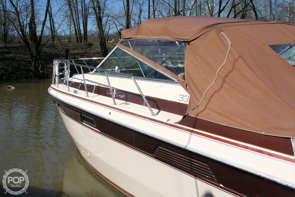1980 Chris Craft boat for sale, model of the boat is 332 Express & Image # 20 of 40
