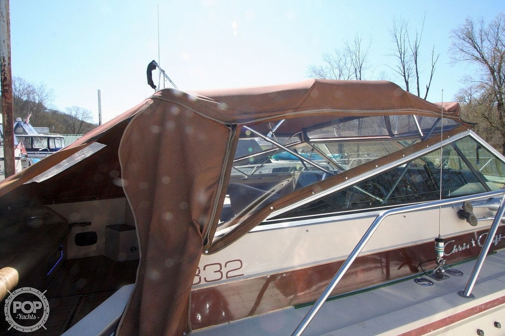 1980 Chris Craft boat for sale, model of the boat is 332 Express & Image # 21 of 40