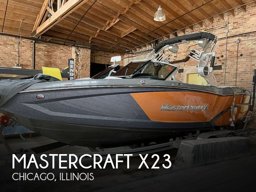 Used Boats For Sale in Chicago, Illinois by owner | 2018 Mastercraft X23