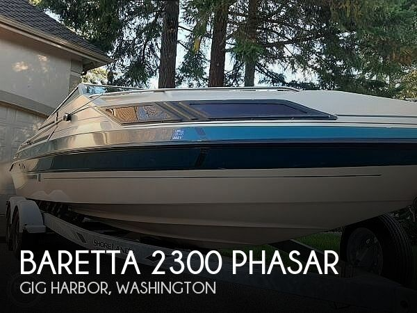 Used Baretta Boats For Sale by owner | 1989 Baretta 230 Phasar