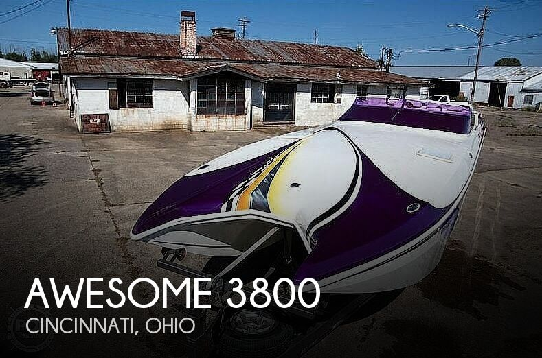 Used High Performance Boats For Sale by owner | 2002 Awesome 3800 Signature
