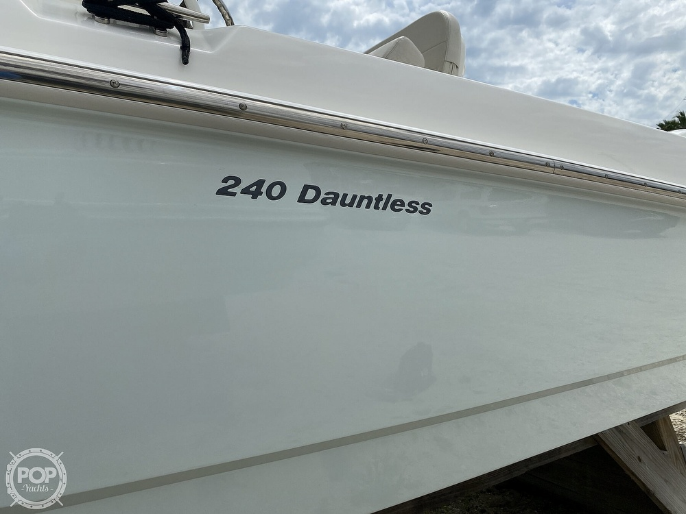 2018 Boston Whaler boat for sale, model of the boat is 240 Dauntless Pro & Image # 22 of 40