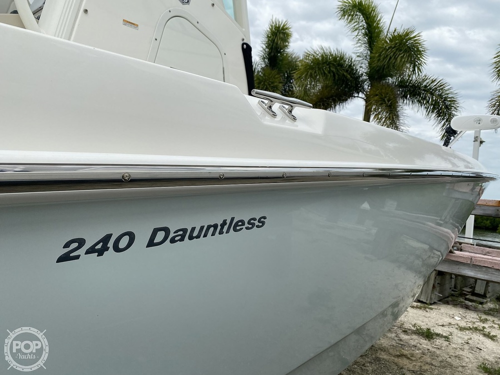 2018 Boston Whaler boat for sale, model of the boat is 240 Dauntless Pro & Image # 35 of 40
