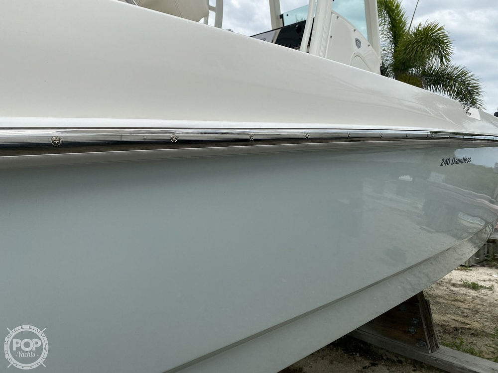 2018 Boston Whaler boat for sale, model of the boat is 240 Dauntless Pro & Image # 37 of 40