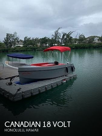 Used Power boats For Sale in Hawaii by owner   2020 Canadian Electric 18 Volt