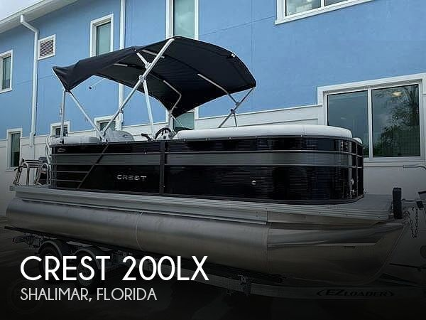 Used Crest Boats For Sale by owner | 2021 Crest 200LX