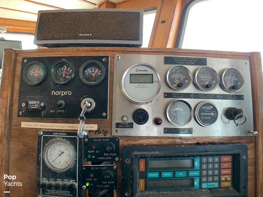 2001 Novi boat for sale, model of the boat is Gillnetter & Image # 16 of 40