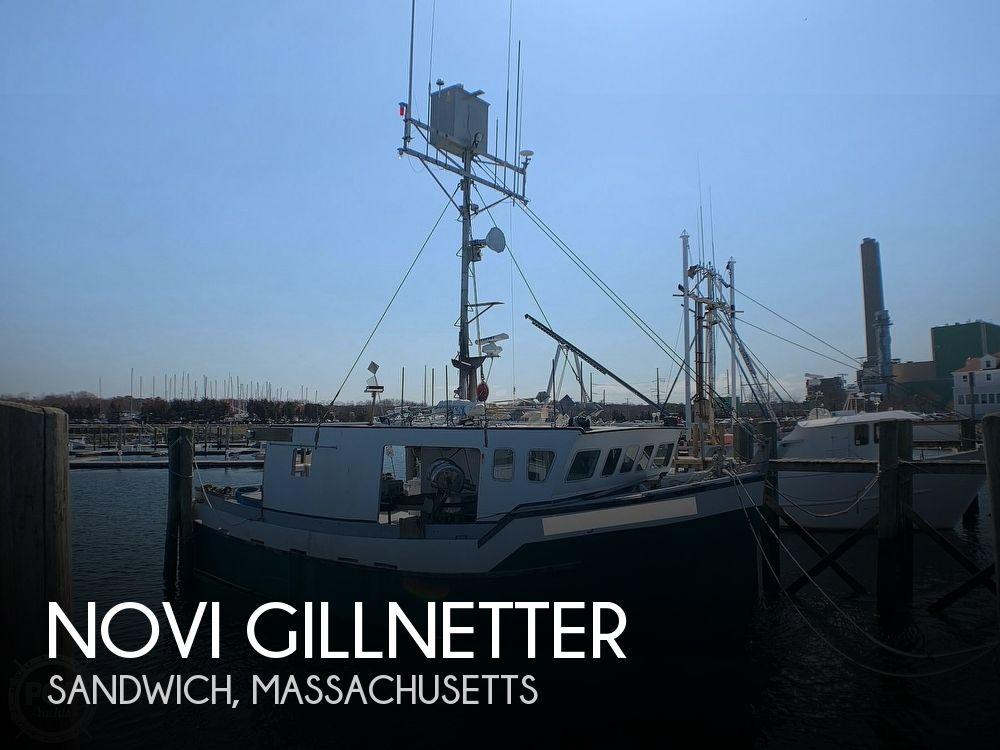 2001 Novi boat for sale, model of the boat is Gillnetter & Image # 1 of 40
