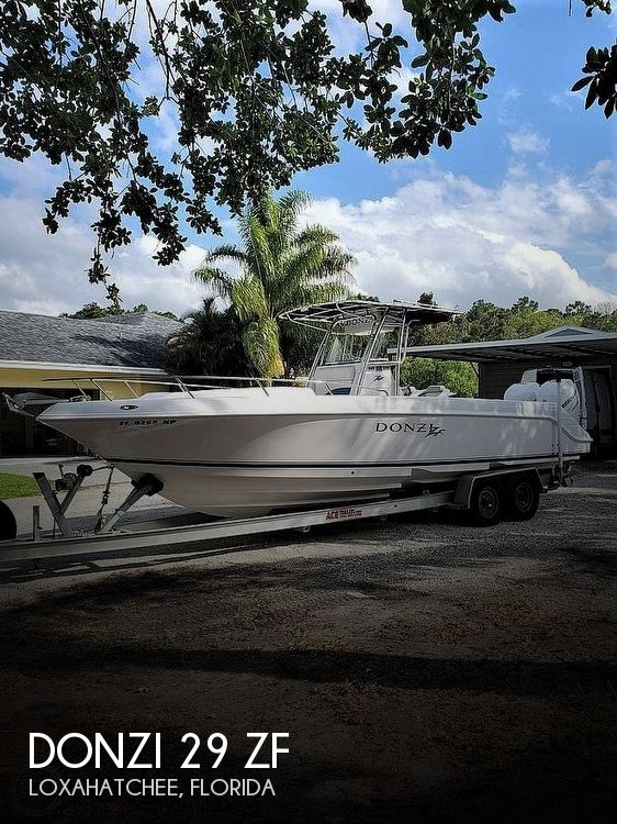 Used DONZI Boats For Sale by owner | 2006 Donzi 29 ZF