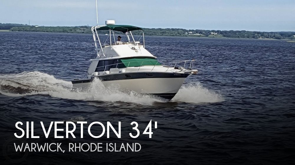1984 Silverton boat for sale, model of the boat is 34' Convertible & Image # 1 of 40