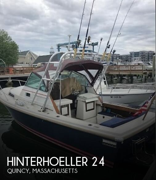 1988 Hinterhoeller boat for sale, model of the boat is Limestone 24 Express Cruiser & Image # 1 of 40