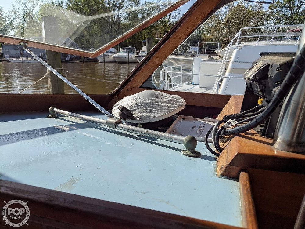 1963 Egg Harbor boat for sale, model of the boat is Flybridge Express & Image # 34 of 40
