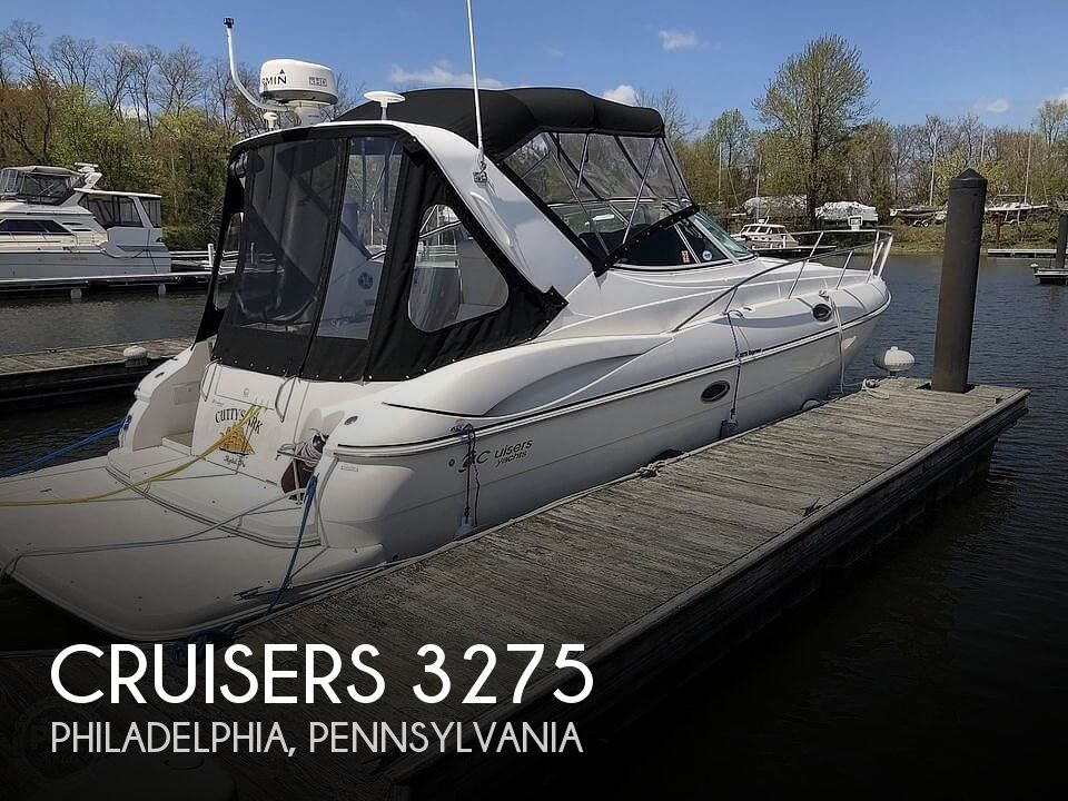 Used Power boats For Sale in Philadelphia, Pennsylvania by owner | 2002 Cruisers Yachts 3275