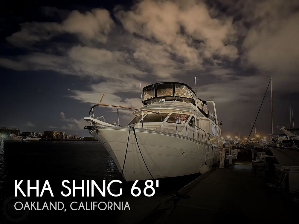Used Boats For Sale in San Jose, California by owner | 1989 68 foot Kha Shing Silver Star