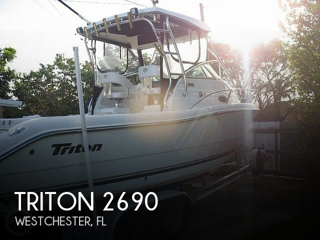 Used Triton  Boats For Sale by owner | 2004 Triton 2690