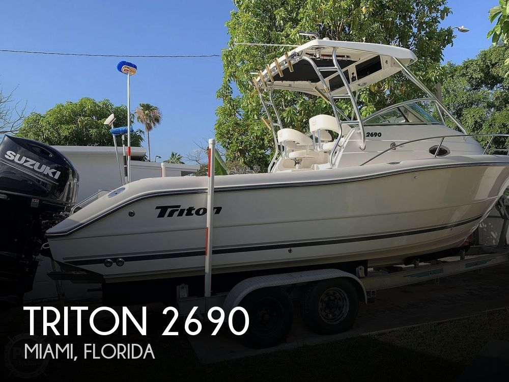 2004 Triton boat for sale, model of the boat is 2690 & Image # 1 of 40