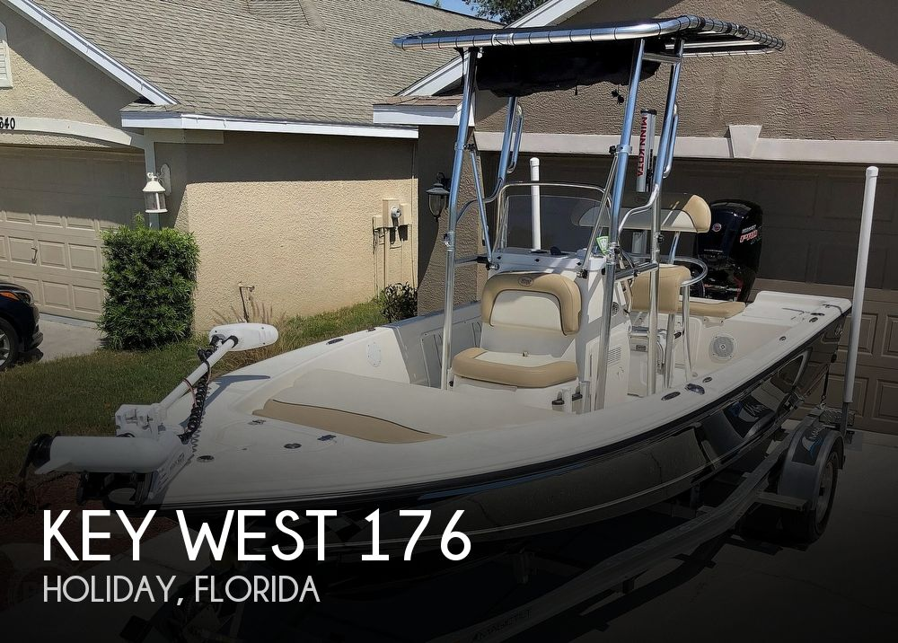 2018 Key West boat for sale, model of the boat is 176 Bay Reef & Image # 1 of 40