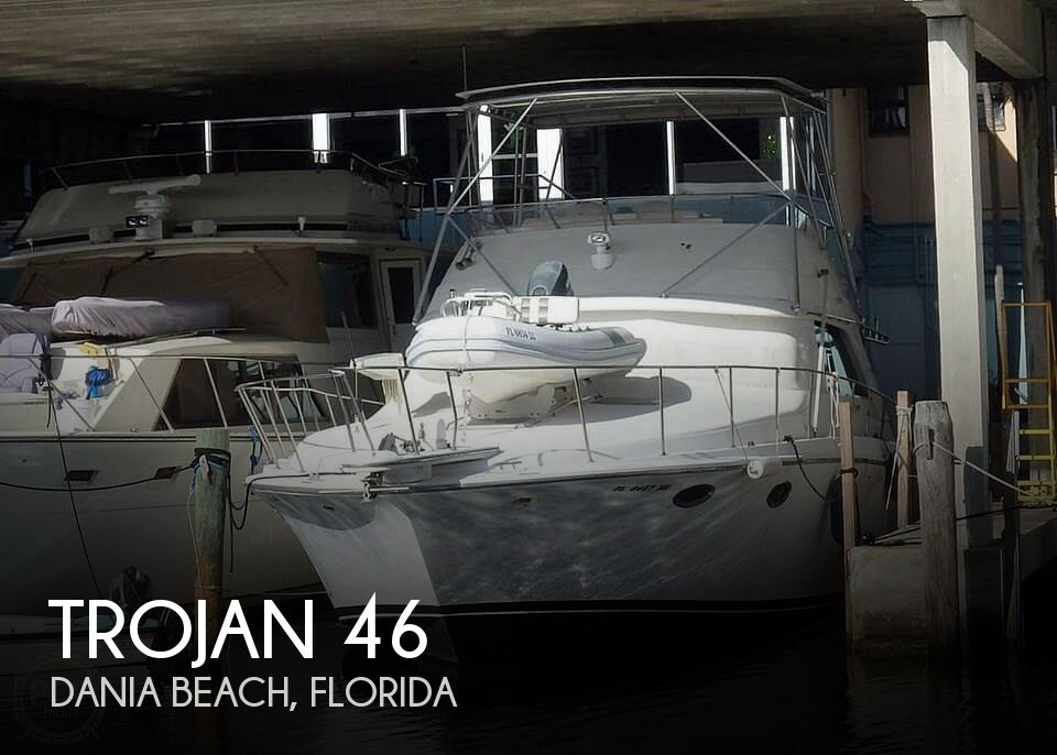 Used Trojan Boats For Sale by owner | 1988 Trojan 46
