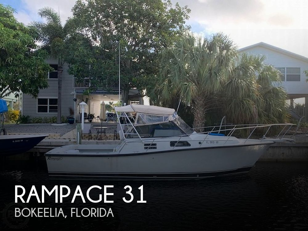 Used Rampage Boats For Sale by owner | 1988 Rampage 31 Sportfish