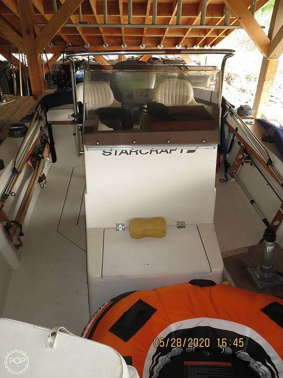 1988 Starcraft boat for sale, model of the boat is Bluewater 180 & Image # 5 of 27