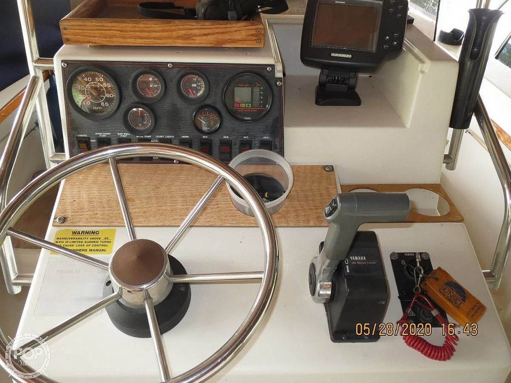 1988 Starcraft boat for sale, model of the boat is Bluewater 180 & Image # 7 of 27