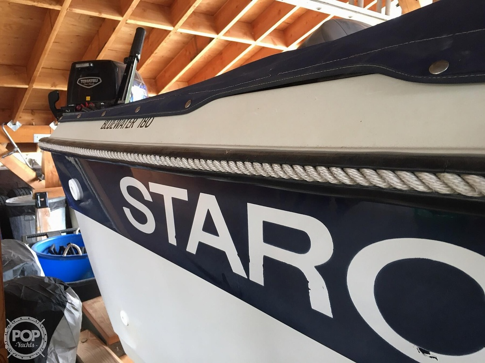 1988 Starcraft boat for sale, model of the boat is Bluewater 180 & Image # 24 of 27