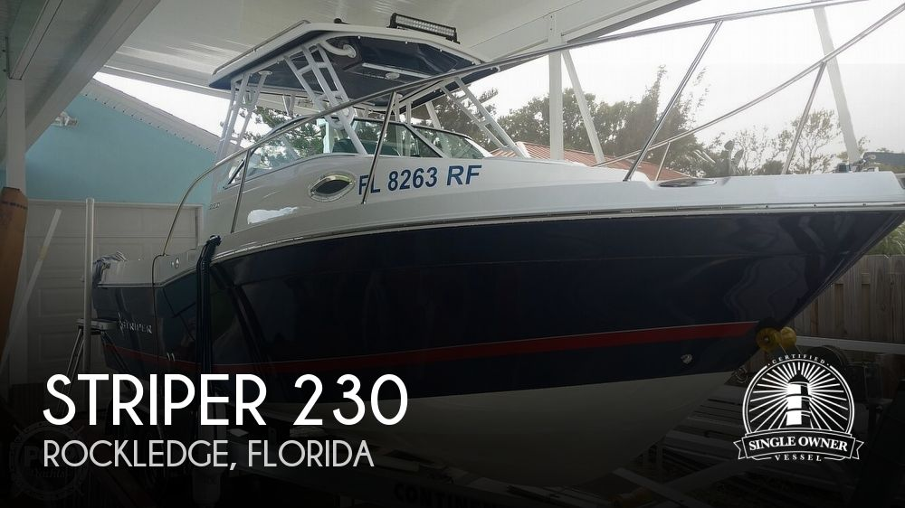 2017 Striper boat for sale, model of the boat is 230 & Image # 1 of 40
